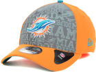 Miami Dolphins New Era 2014 NFL Draft Flip 39THIRTY Cap Stretch Fitted Hats
