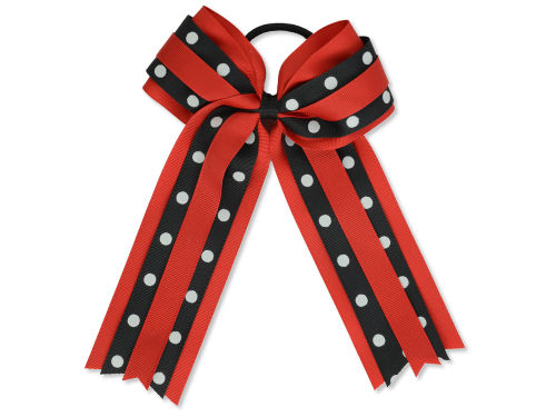 Louisville Cardinals Ponytail Bow