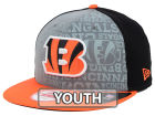 Cincinnati Bengals New Era 2014 NFL Kids Draft 9FIFTY Snapback Cap Adjustable Hats