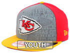 Kansas City Chiefs New Era 2014 NFL Kids Draft 9FIFTY Snapback Cap Adjustable Hats