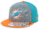 Miami Dolphins New Era 2014 NFL Kids Draft 9FIFTY Snapback Cap Adjustable Hats
