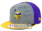 Minnesota Vikings New Era 2014 NFL Kids Draft 9FIFTY Snapback Cap Adjustable Hats