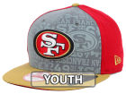 San Francisco 49ers New Era 2014 NFL Kids Draft 9FIFTY Snapback Cap Adjustable Hats