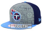 Tennessee Titans New Era 2014 NFL Kids Draft 9FIFTY Snapback Cap Adjustable Hats