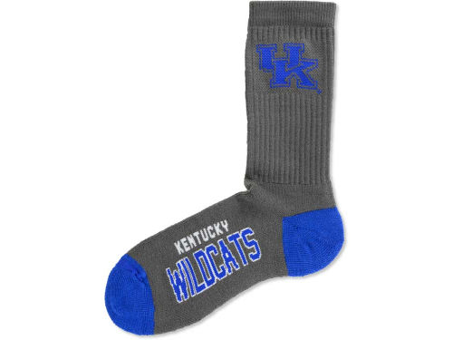 Kentucky Wildcats For Bare Feet Deuce Crew 504 Socks