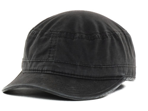LIDS Private Label PL Brushed Basic Military Cap Hats