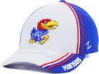 Kansas Jayhawks Zephyr NCAA Slash AG Cap Stretch Fitted Hats