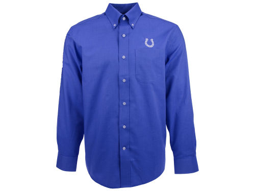 Indianapolis Colts NFL Men's Nailshead Button Up Shirt