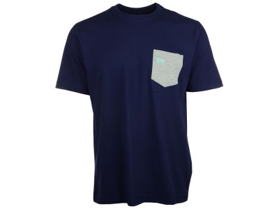 New Era Branded Flag Pocket T-Shirt