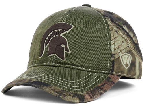 Michigan State Spartans Top of the World NCAA Laylow Camo One-Fit Cap Hats