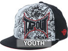 Tapout TO Side Logo Over Print Youth Stretch Cap Stretch Fitted Hats