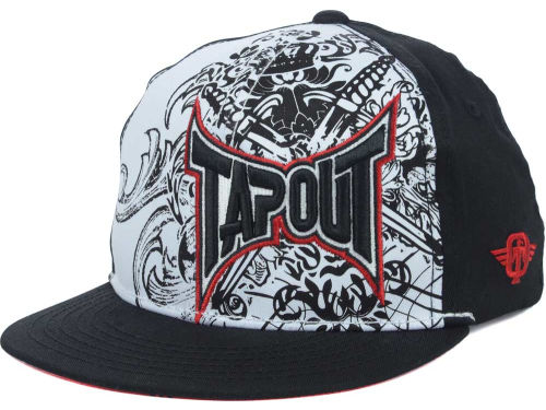 Tapout TO Side Logo Over Print Youth Stretch Cap Hats