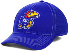 Kansas Jayhawks Top of the World NCAA Raider Memory-Fit Cap Stretch Fitted Hats