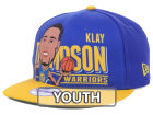 Golden State Warriors New Era NBA Hardwood Classics Youth Player 9FIFTY Snapback Cap Hats