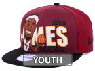 Miami Heat New Era NBA Hardwood Classics Youth Player 9FIFTY Snapback Cap Hats