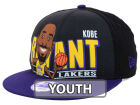 Los Angeles Lakers New Era NBA Hardwood Classics Youth Player 9FIFTY Snapback Cap Hats