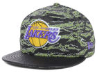 Los Angeles Lakers New Era NBA Hardwood Classics Canimal 59FIFTY Cap Fitted Hats