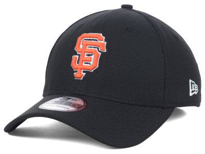 San Francisco Giants MLB Diamond Era Black 39THIRTY Cap Hats