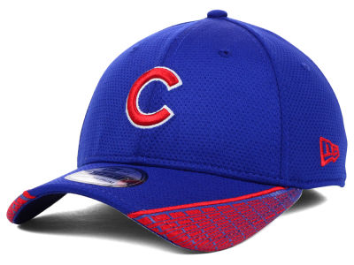 Chicago Cubs MLB Vertical Strike 39THIRTY Cap Hats