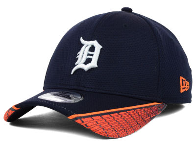 Detroit Tigers MLB Vertical Strike 39THIRTY Cap Hats