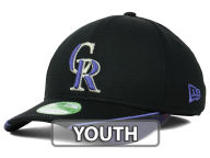 New Era MLB Youth Vertical Strike 39THIRTY Cap Stretch Fitted Hats