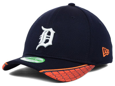 Detroit Tigers MLB Youth Vertical Strike 39THIRTY Cap Hats