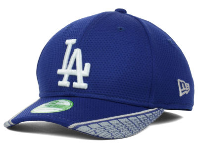 Los Angeles Dodgers MLB Youth Vertical Strike 39THIRTY Cap Hats