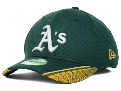 Oakland Athletics MLB Youth Vertical Strike 39THIRTY Cap Hats