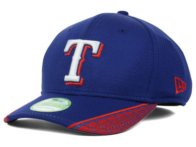 Texas Rangers MLB Youth Vertical Strike 39THIRTY Cap Hats