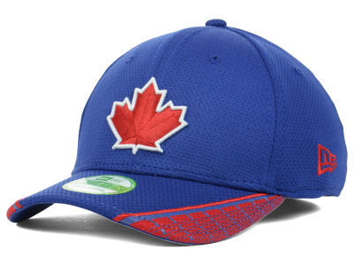 Toronto Blue Jays MLB Youth Vertical Strike 39THIRTY Cap Hats