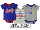 Kansas Jayhawks Outerstuff NCAA Infant 3 piece Bodysuit Set Infant Apparel
