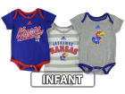 Kansas Jayhawks Outerstuff NCAA Infant 3piece Bodysuit Set Infant Apparel