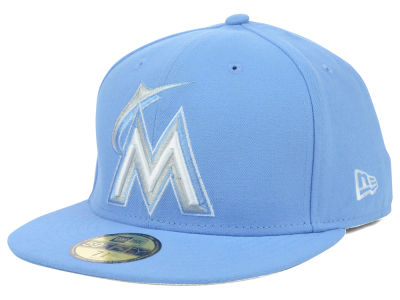 Miami Marlins MLB C-Dub 59FIFTY Cap Hats