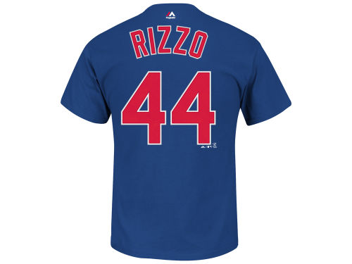 Chicago Cubs Anthony Rizzo Majestic MLB Men's Official Player T-Shirt