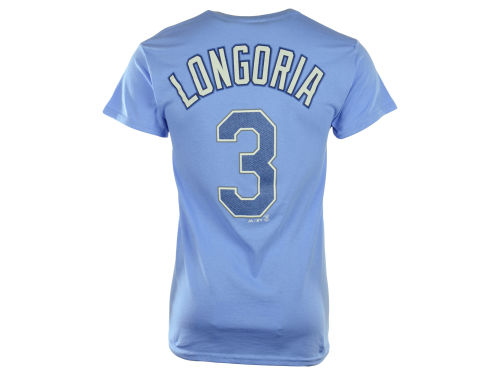 Tampa Bay Rays Evan Longoria Majestic MLB Men's Official Player T-Shirt