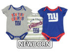 New York Giants Outerstuff NFL Newborn Field Goal Bodysuit Set Outfits