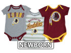 Washington Redskins Outerstuff NFL Newborn Field Goal Bodysuit Set Outfits