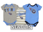 Tennessee Titans Outerstuff NFL Newborn Field Goal Bodysuit Set Outfits