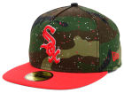 Chicago White Sox New Era MLB Camo Splatted A-Frame 59FIFTY Cap Fitted Hats