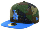 Los Angeles Dodgers New Era MLB Camo Splatted A-Frame 59FIFTY Cap Fitted Hats