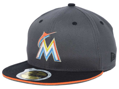 Miami Marlins MLB Youth Opening Day 59FIFTY Cap Hats