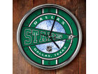 Dallas Stars Chrome Clock Bed & Bath