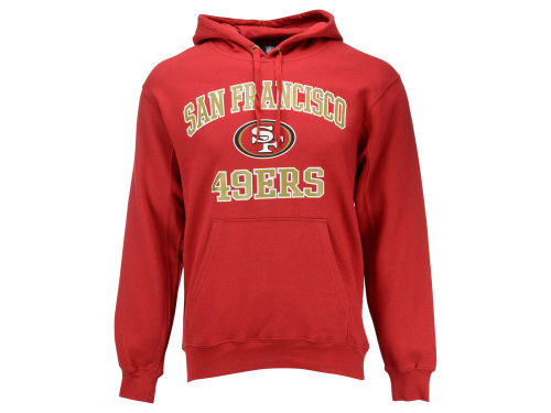 San Francisco 49ers VF Licensed Sports Group NFL Men's Heart and Soul Hoodie