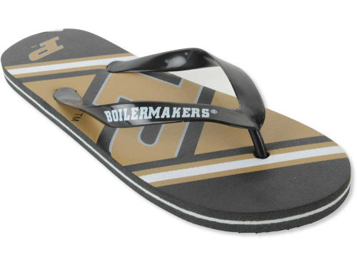 Purdue Boilermakers Forever Collectibles Big Logo Flip Flop