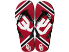 Oklahoma Sooners Forever Collectibles Big Logo Flip Flops Youth Apparel & Accessories