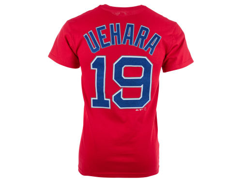 Boston Red Sox Koji Uehara Majestic MLB Men's Official Player T-Shirt