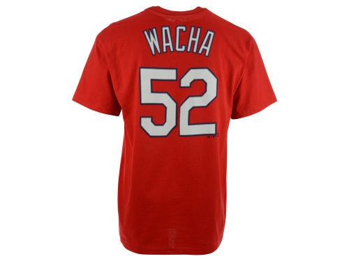 St. Louis Cardinals Michael Wacha Majestic MLB Men's Official Player T-Shirt