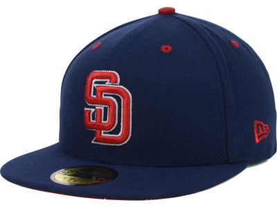San Diego Padres MLB All-American 59FIFTY Cap Hats