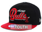 Chicago Bulls New Era NBA Hardwood Classics Youth Bright Nights 9FIFTY Snapback Cap Adjustable Hats