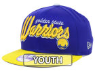 Golden State Warriors New Era NBA Hardwood Classics Youth Bright Nights 9FIFTY Snapback Cap Adjustable Hats